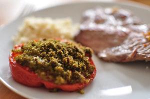 recette tomate provençale au barbecue