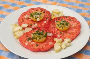 recette tomates grillées au barbecue