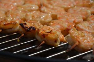 recette brochette de gambas au barbecue