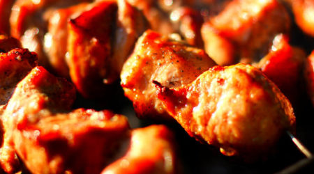 recette brochette de porcs au barbecue