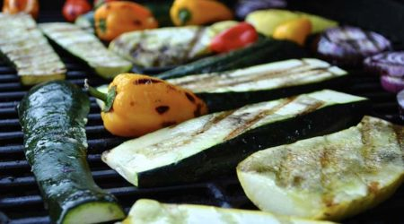 recette courgette grillée au barbecue