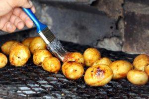 recette pomme de terre à l'ailloli au barbecue
