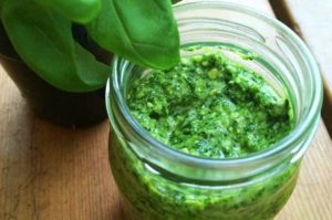 recette sauce pesto accompagnement barbecue