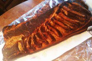 recette travers de porc sauce mexicaine au barbecue