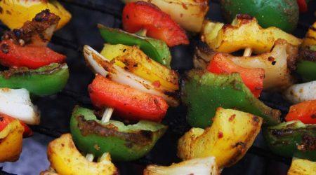 brochette de legumes au barbecue