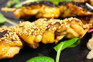 recette poulet satay au barbecue