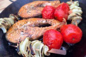 recette steak de thon mariné au barbecue
