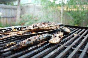 recette filet de sardine grillés au barbecue