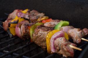 recette brochette d'agneau au barbecue