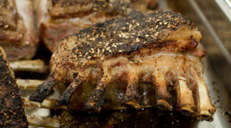 recette côtelette d'agneau au barbecue