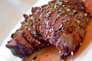 recette marinade de boeuf au barbecue