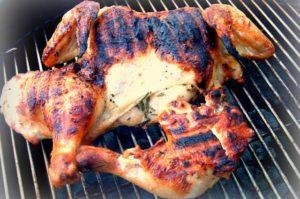 recette volaille à la marocaine au barbecue